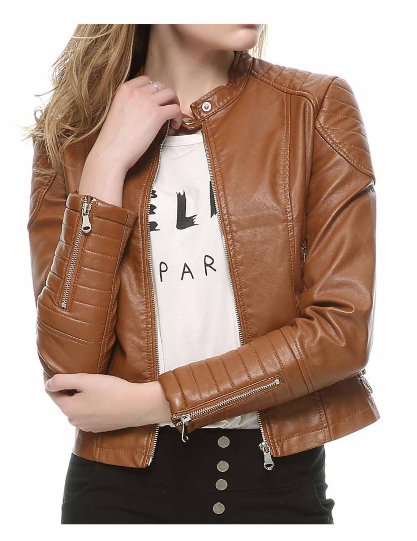 womens-faux-leather-biker-jacket