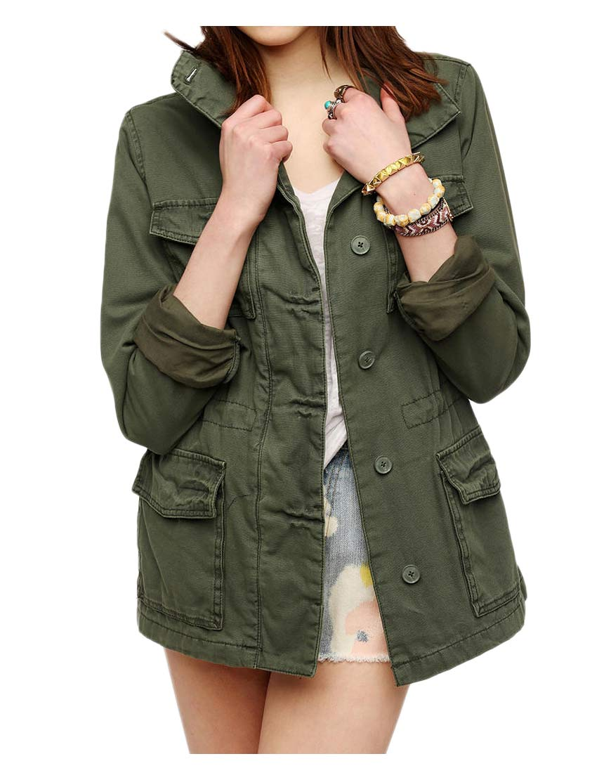 women's-military-green-jacket