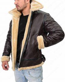 Tom Hardy Dunkirk Leather Jacket