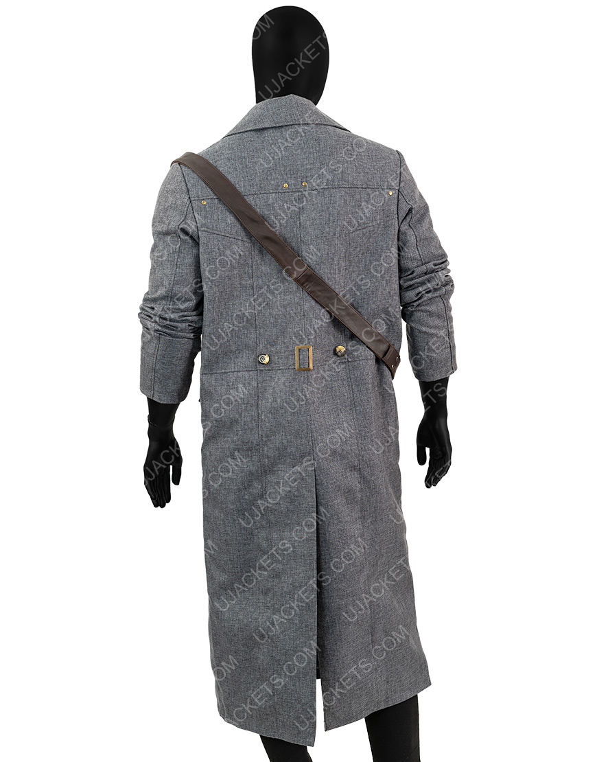 Bloodborne Game Hunter Grey Coat