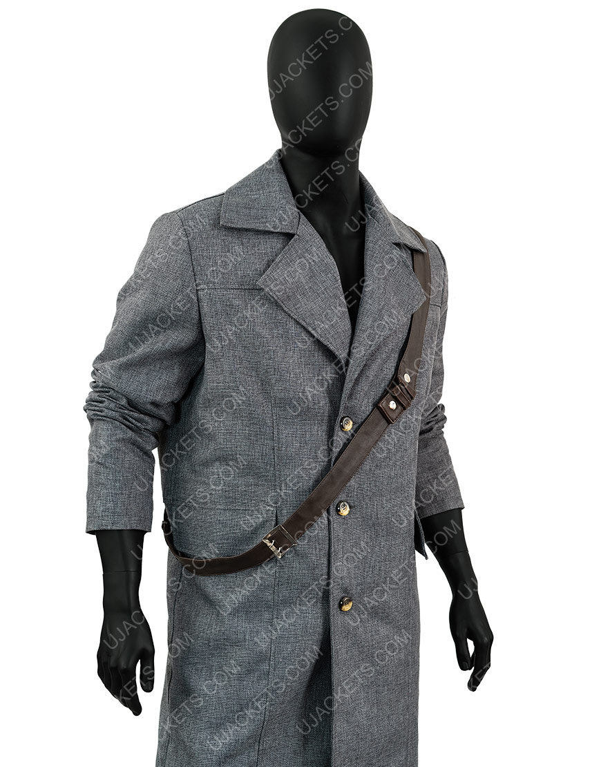 Bloodborne Video Game Grey Coat