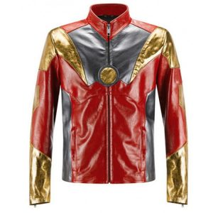 Spider-Man Homecoming Iron Man Leather Jacket