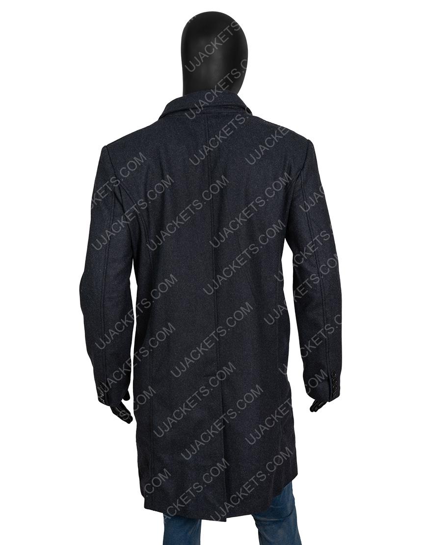 The Last Witch Hunter Vin Diesel Grey Wool Blend Coat