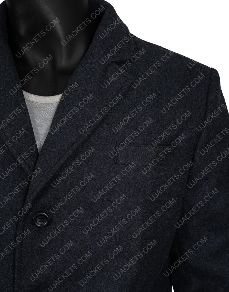 Vin Diesel The Last Witch Hunter Kaulder Grey Wool Blend Coat