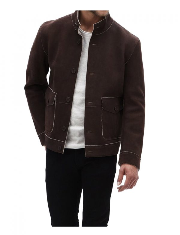 oliver-queen-suede-jacket