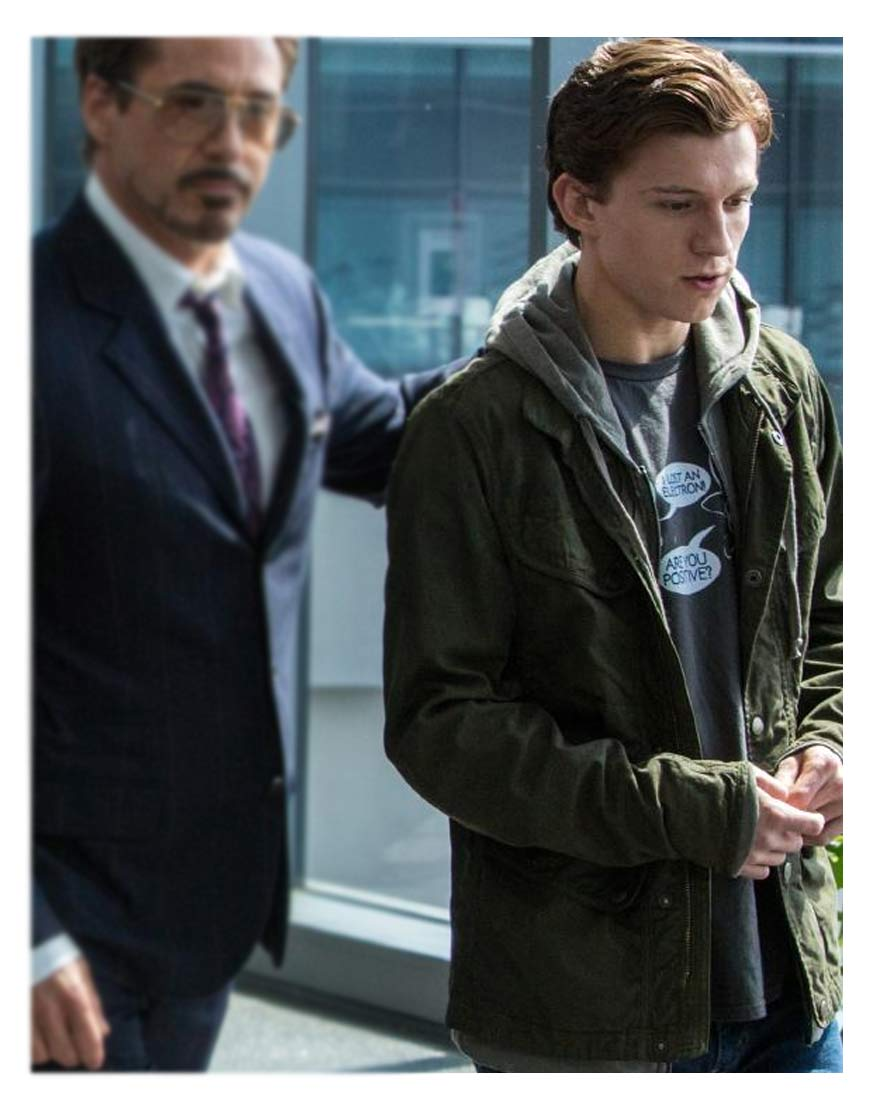 peter-parker-green-jacket