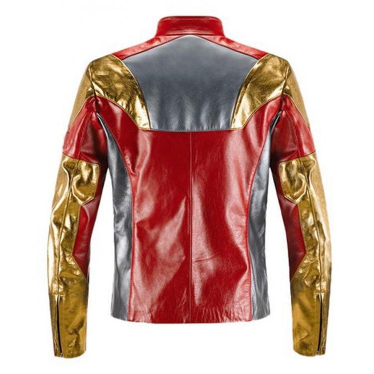 ron Man Leather Jacket