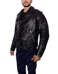 bruce springsteen motorcycle leather jacket