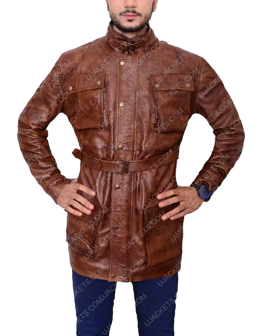 brad pitt benjamin button leather jacket