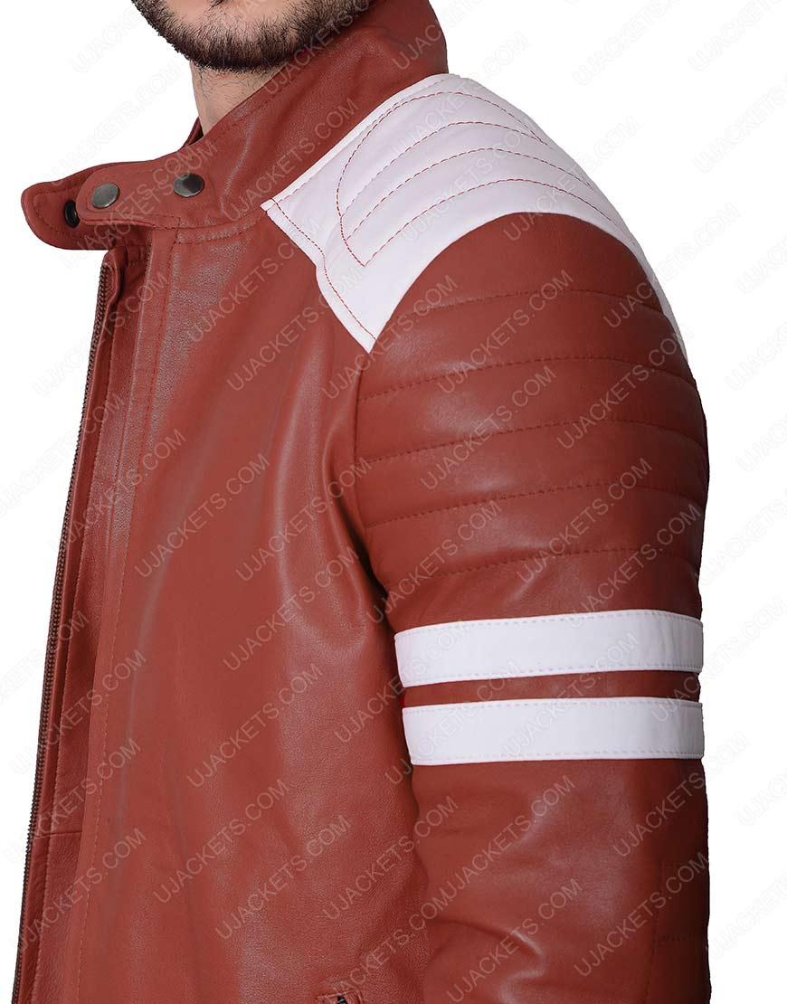 tyler durden leather jacket