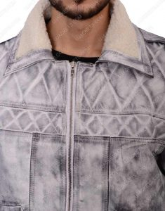 batou leather jacket