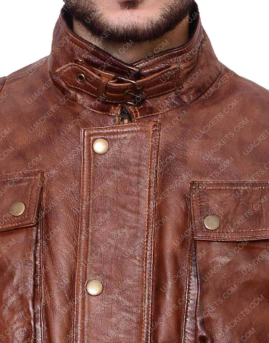 benjamin button brown jacket