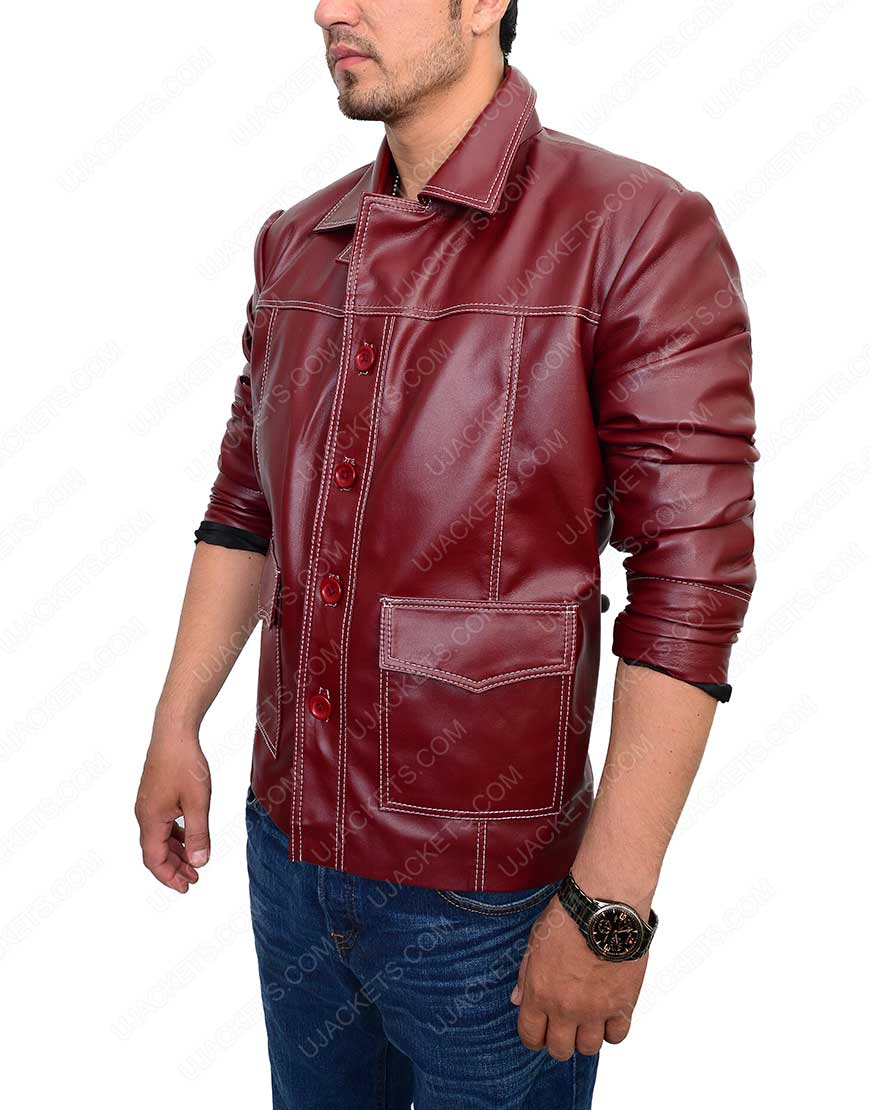 fight club red jacket