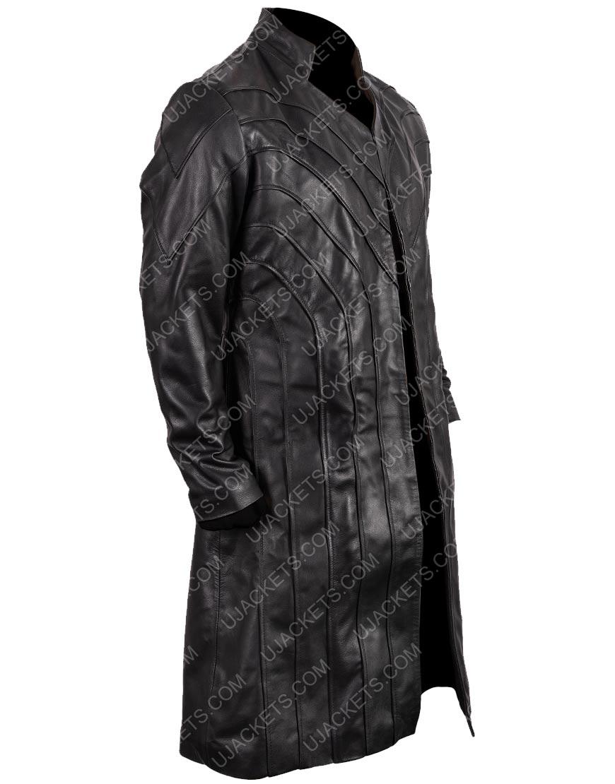 Dominion Michael Velvet Black Coat