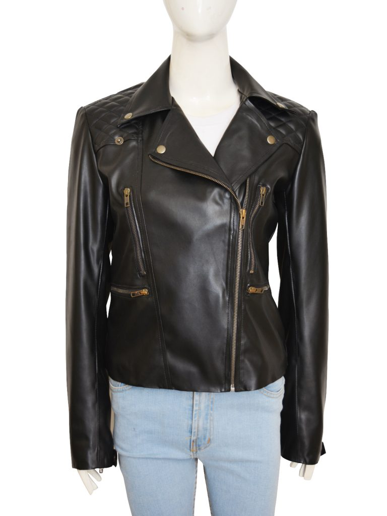 chloe decker leather jacket