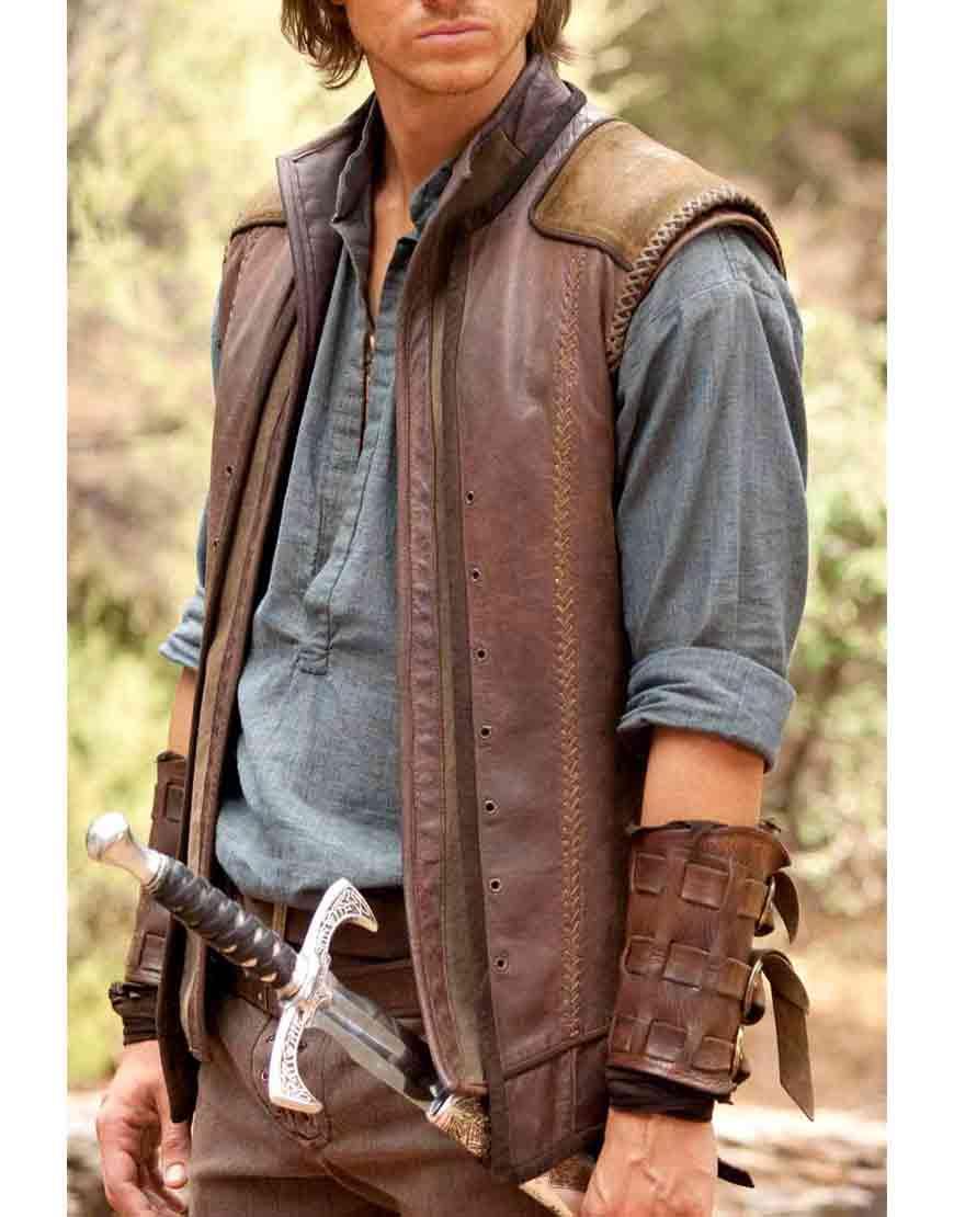 legend of the seeker craig horner vest