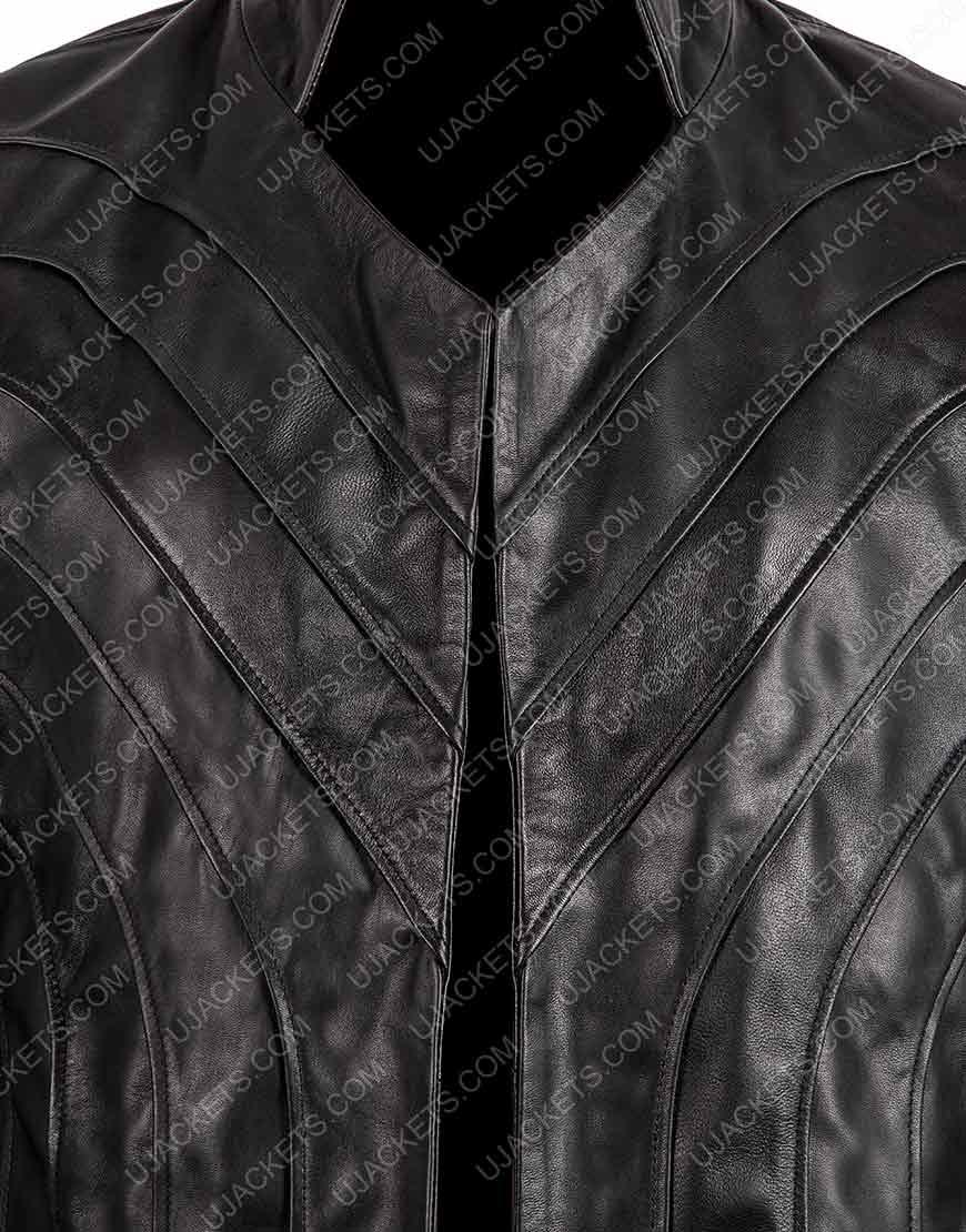 Tom Wisdom Black Coat
