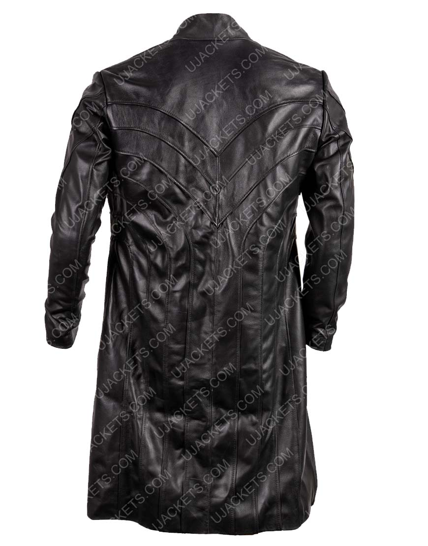 Tom Wisdom Dominion Michael Velvet Black Coat