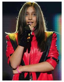 christina aguilera red leather jacket
