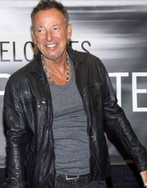 bruce springsteen leather jacket