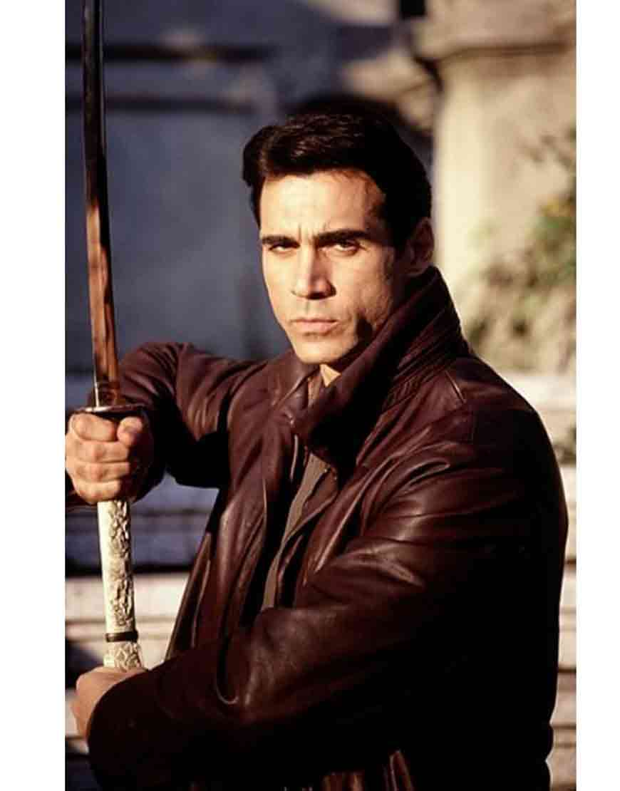 highlander adrian paul coat