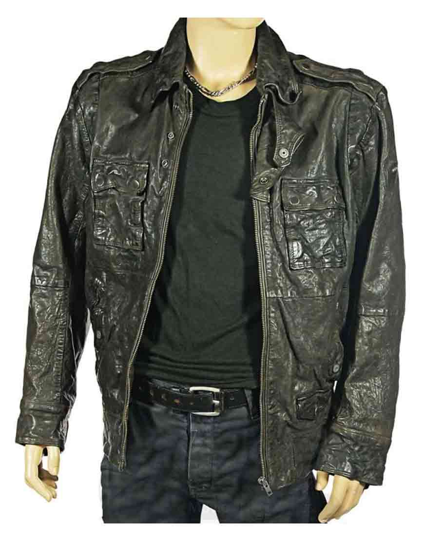 dredd leather jacket