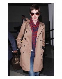 anne hathaway coat