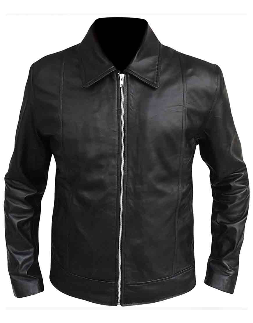 hank moody leather jacket