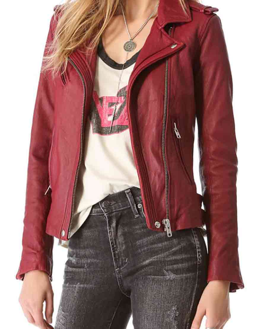 kate beckett red jacket