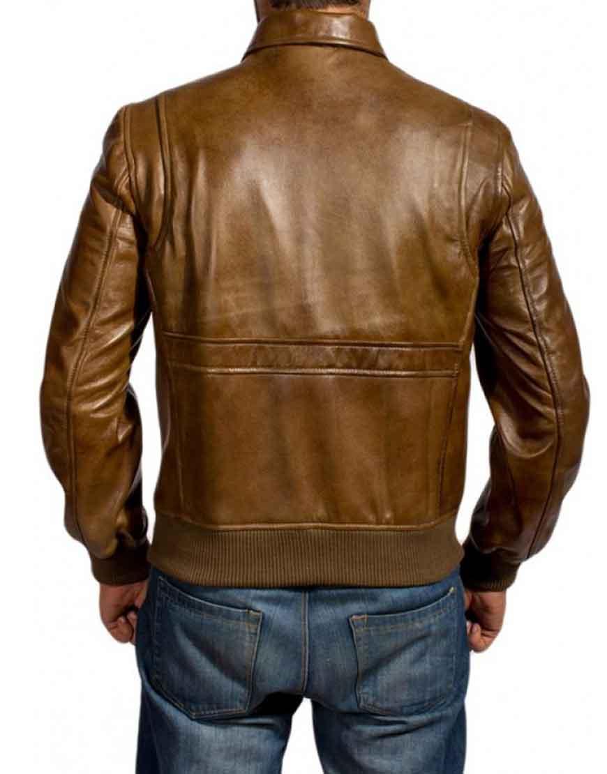 augustus waters leather jacket