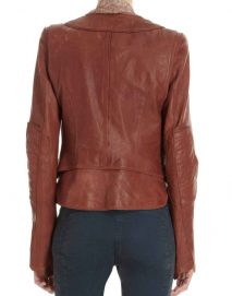 kate beckett brown jacket
