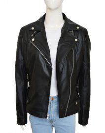 carrie wells leather jacket