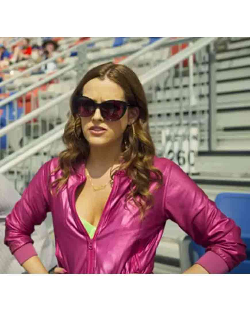 riley keough logan lucky jacket