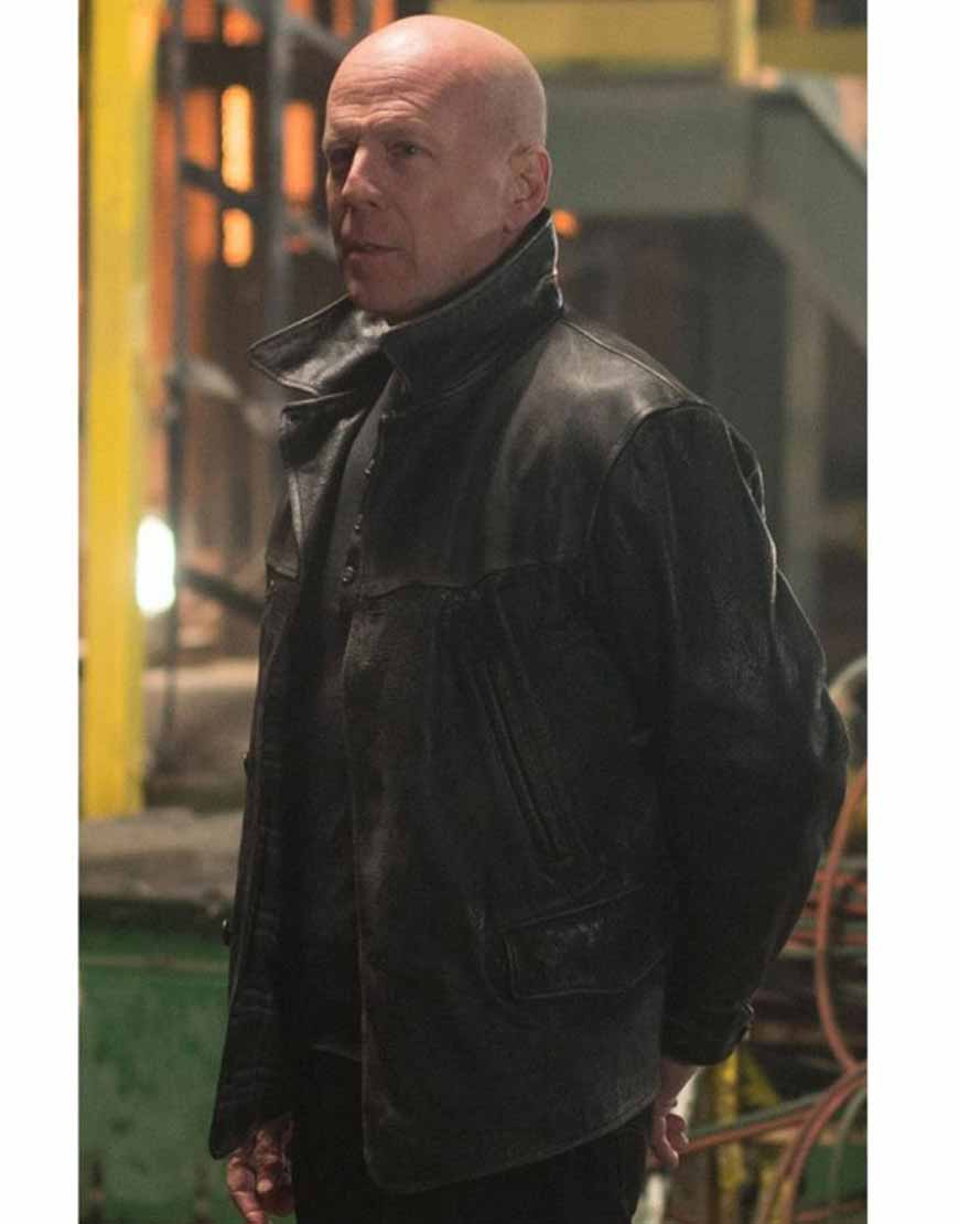 extraction bruce willileonard turner leather jacket