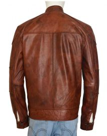 damien thorn leather jacket
