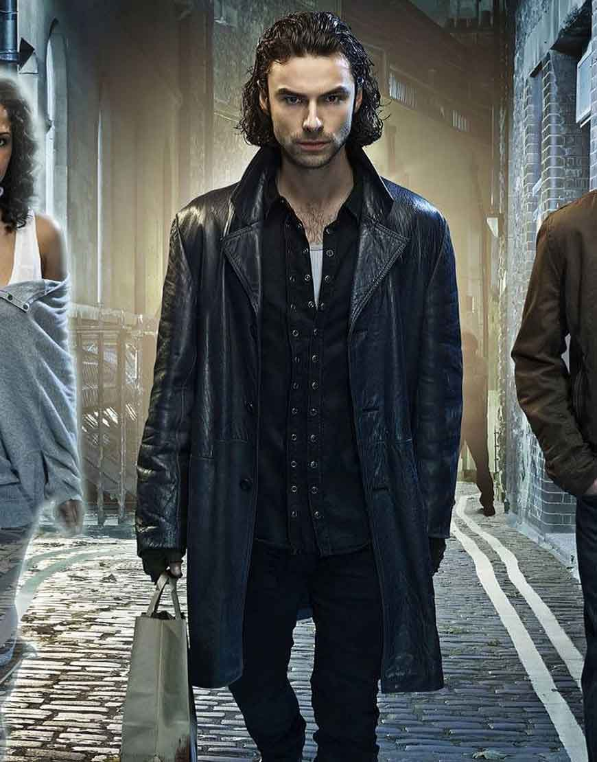 being human mitchell leather jacket