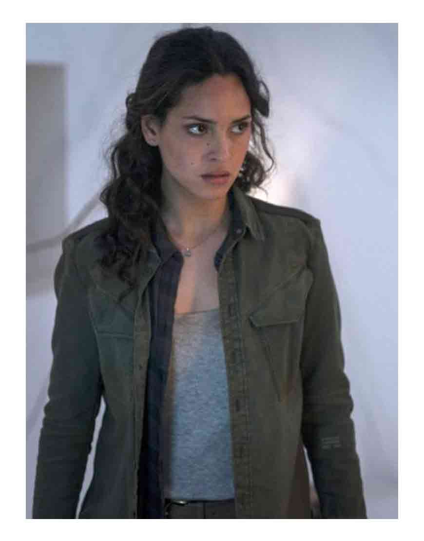 emerald city adria arjona jacket