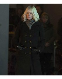 atomic blonde charlize theron coat