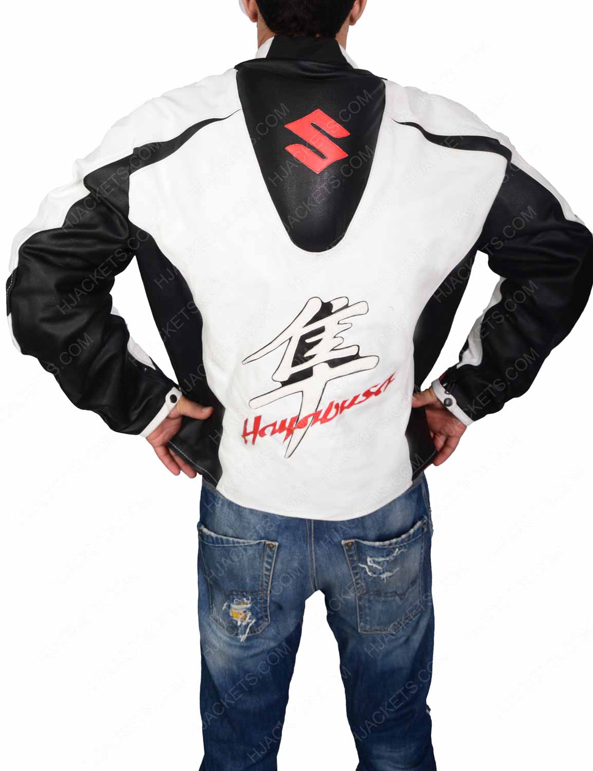 White Motorcycle Jacket