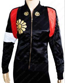 Karen Fukuhara Suicide Squad Tatsu Yamashiro Katana Synthetic Leather Jacket