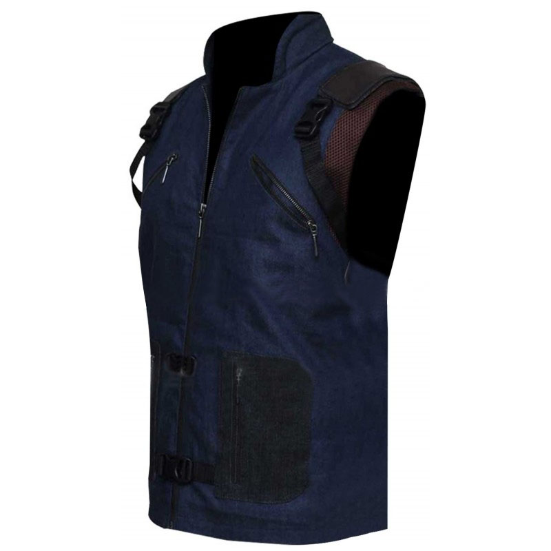 rocket raccoon leather vest