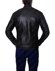 arrow john black man jacket