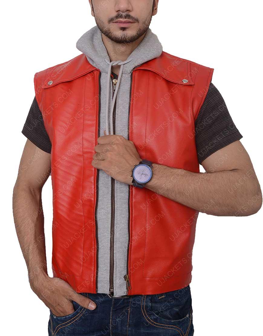 terry bogard leather vest