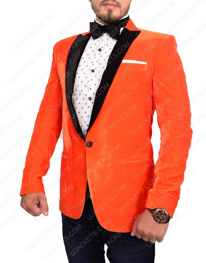 taron egerton blazer