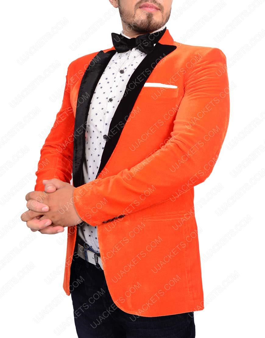 kingsman orange tuxedo