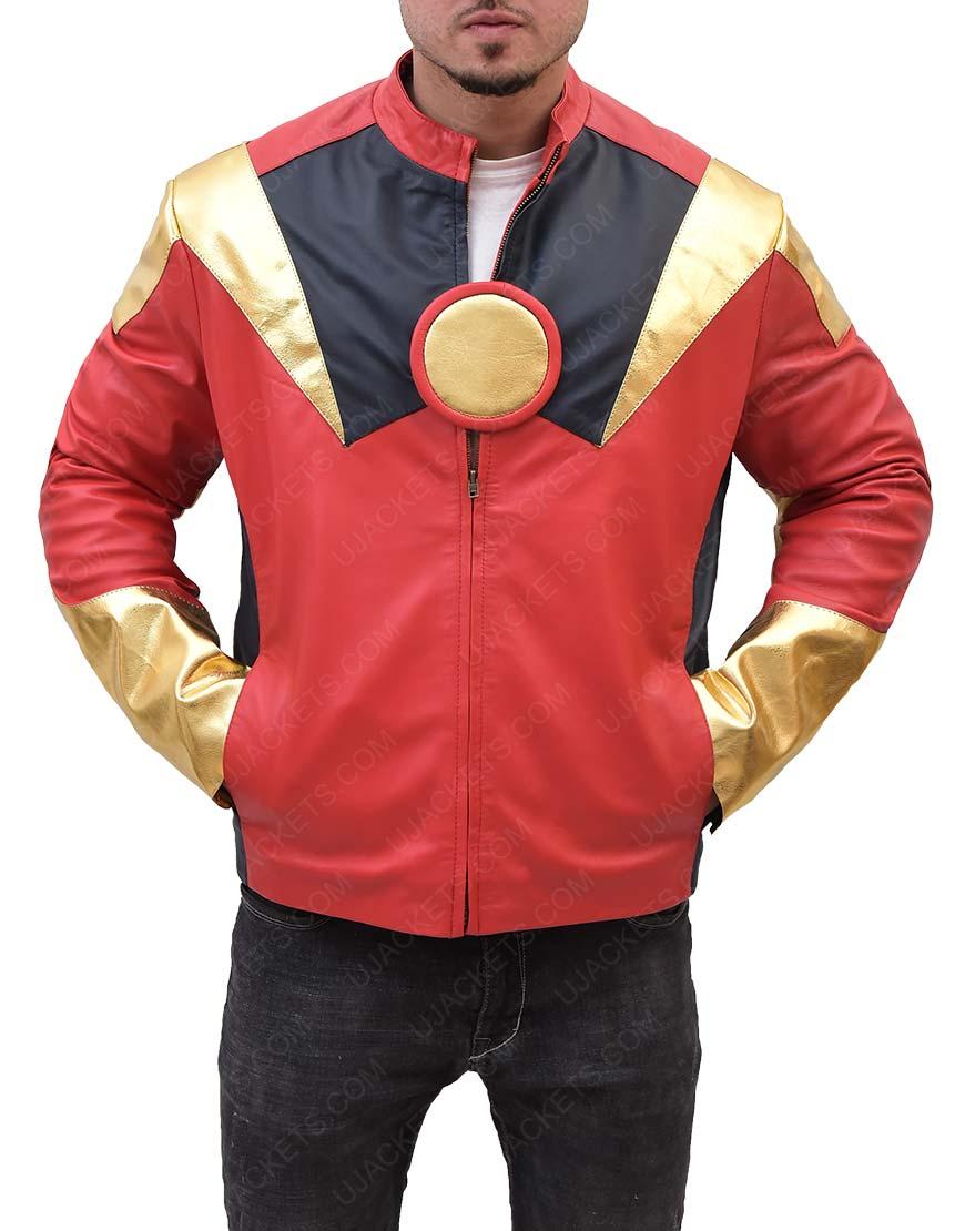 Avengers Age of Ultron Leather Jacket