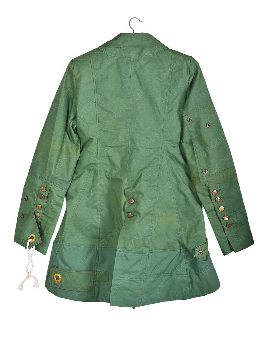 C.A Civil War Scarlet Witch Wanda Maximoff Leather Jacket