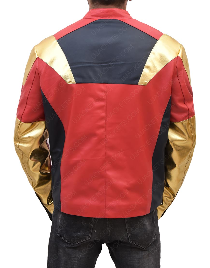 Iron Man Avengers Age of Ultron Robert Downey Jr. Multi Color Jacket