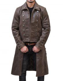 Outlander Jamie Frasers Leather Coat