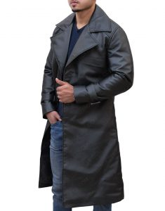 Resident Evil Trench Leather Coat